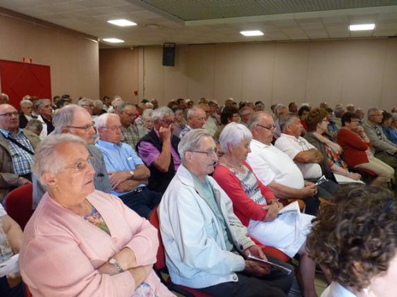 Aînés : près de 130 participants à l'assemblée générale