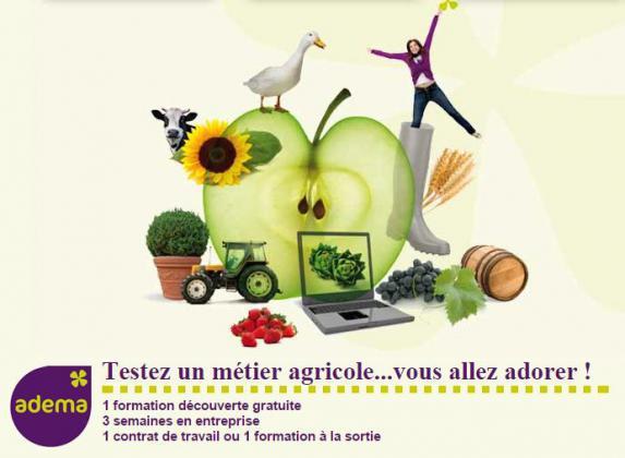 Adema : Découverte des métiers de l'agriculture