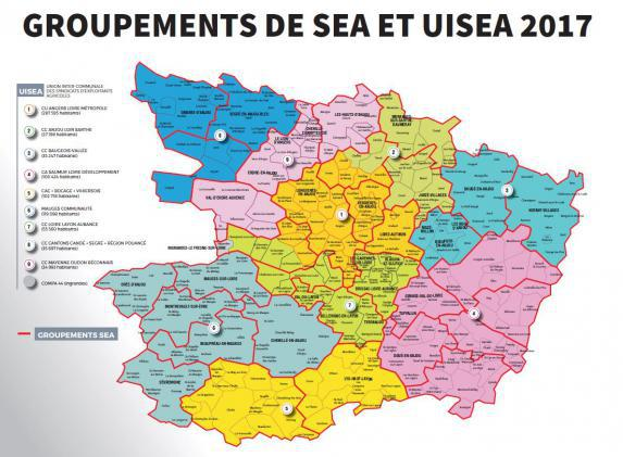 Réseau : création des groupements de SEA et UISEA
