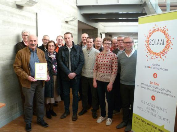 Aide alimentaire : SOLAAL Pays de la Loire est né