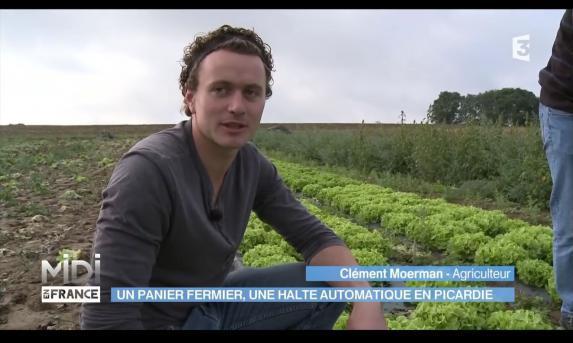 Innovation [vidéo] : un distributeur automatique de légumes accessible 7 jours sur 7.