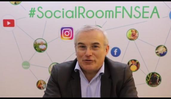 Agriculture & politiques [vidéo] : Michel Dantin répond aux agriculteurs