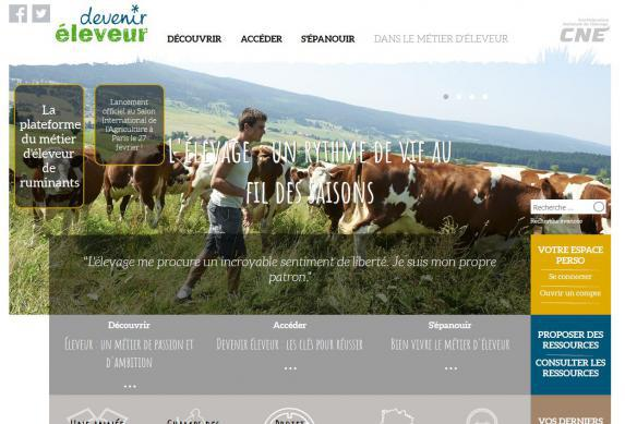 Elevage : lancement du site collaboratif #deveniréleveur