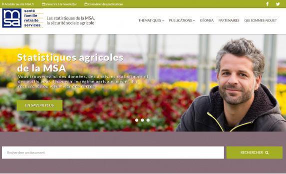Données : la MSA lance un site pour accéder aux statistiques agricoles