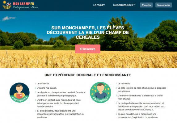 Communication : Passion céréales lance un site destiné aux élèves et enseignants