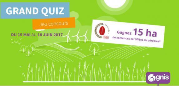 Concours : Le Gnis fait gagner 15 hectares de semences