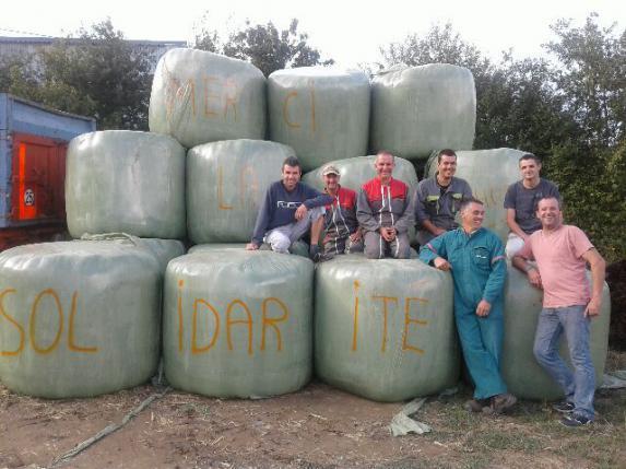 Solidarité : un don de 200 T de fourrages pour venir en aide à une exploitation victime d'un incendie
