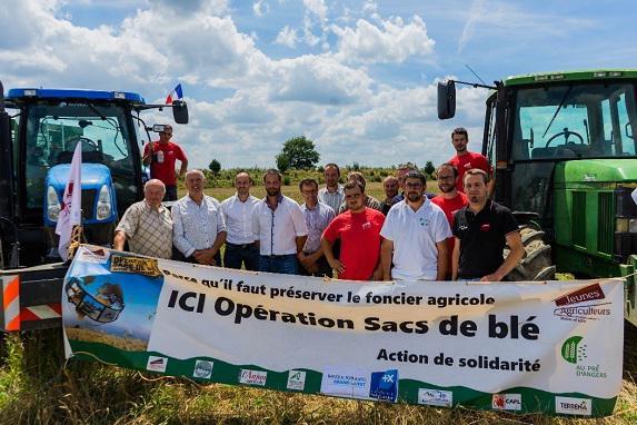 JA49 : opération Sac de Blé 2018 réussie