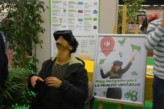 La réalité virtuelle  au service de l'agriculture