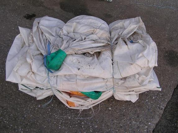 Collecte d'emballages vides et sacs