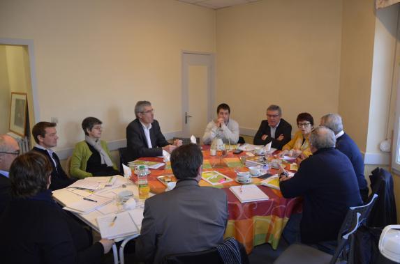 Parlementaires : la FDSEA rencontre sénateurs et députés