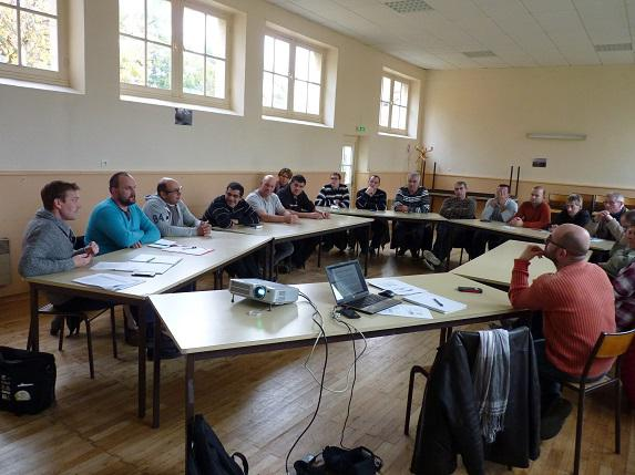 FDSEA : les adhérents du Baugeois Vallée échangent sur les sujets du moment