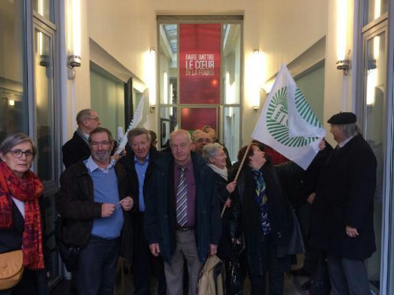 Retraites agricoles : les anciens exploitants à la rencontre des candidats