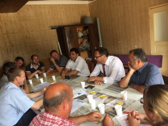 Journée porte-voix : FDSEA/JA rencontrent les candidats aux législatives