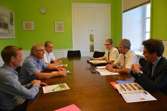 Syndical : Rencontre FDSEA/JA avec le nouveau préfet du Maine-et-Loire