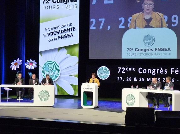 Congrès de la FNSEA : Stéphane Travert manque d'arguments faute de budget