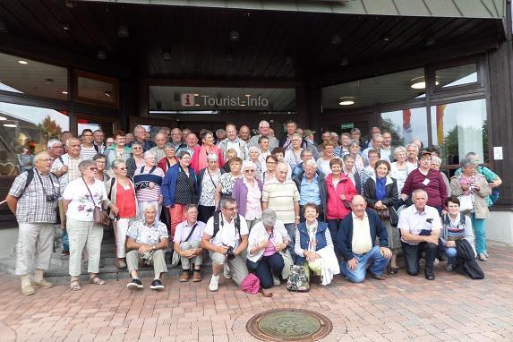 85 anciens exploitants de la FDSEA visitent l'Alsace