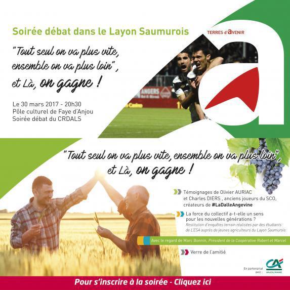 Soirée débat - CRDA Layon Saumurois