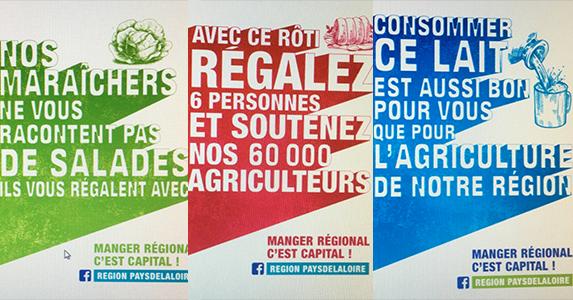 Stratégie AgriAlimentaire 2020 : une campagne de publicité régionale