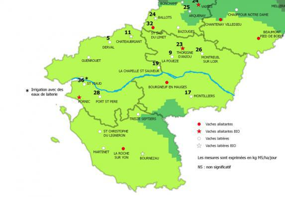 Pays de la Loire - Bulletin pousse de l'herbe