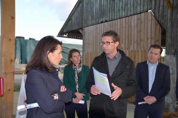 Pays de la Loire : la présidente de Région à l'écoute des JA