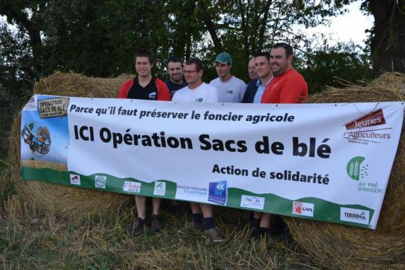 Opération Sac de Blé 2015-2016