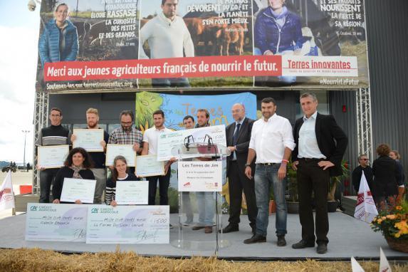 Graines d'agriculteurs : trois jeunes récompensés pour leurs innovations environnementales